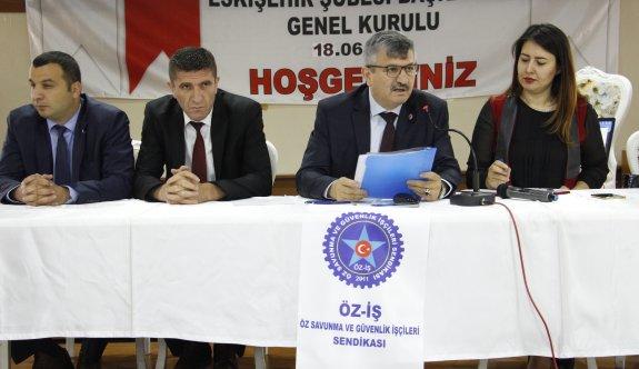 Öz-İş temsilcilikleri, Eskişehir'de toplandı