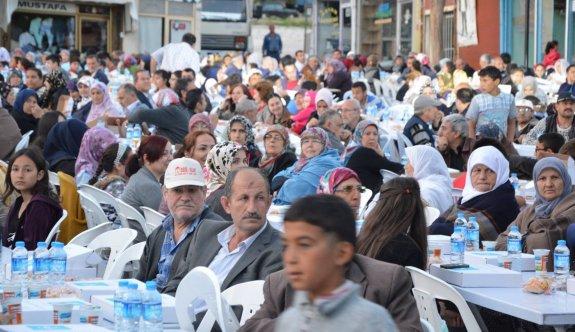 Sivrihisar'da halk iftarları