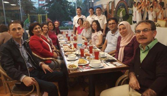 TSG Anadolu Hastanesi çalışanları iftar yemeğinde bir araya geldi