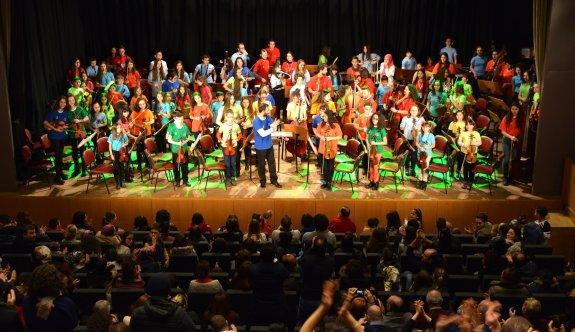 Çocuk Senfoni Orkestrası Çanakkale yolcusu