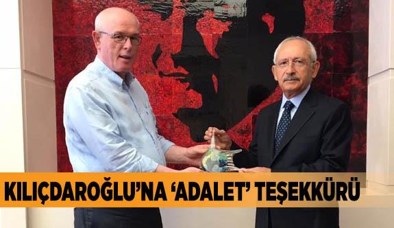 Kılıçdaroğlu'na 'adalet' teşekkürü