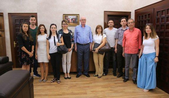 Kültür ve Turizm Bakanlığı Araştırma Heyeti Başkan Kurt'u ziyaret etti