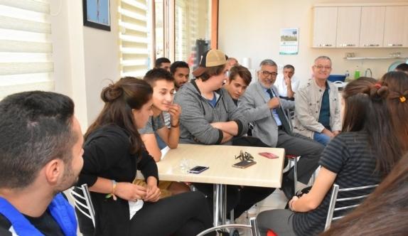 Avcılar Havacılık Topluluğu Başkan Bozkurt'u ziyaret etti