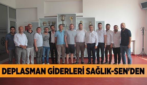 DEPLASMAN GİDERLERİ SAĞLIK-SEN'DEN