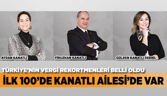 İLK 100'DE KANATLI AİLESİ'DE VAR