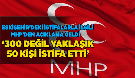 MHP: Ülkücü terbiye alan kişi yalanlar ile insanları aldatmaz