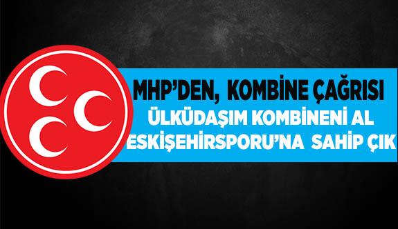 MHP'den, partililere kombine çağrısı
