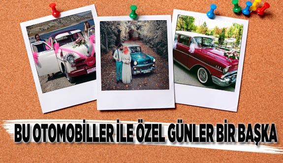 ÖZEL GÜNLERİN 'KLASİK' OTOMOBİLLERİ