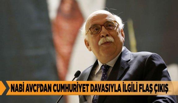 Avcı: Cumhuriyet gazetesini FETÖ ile birlikte anmak doğru değil