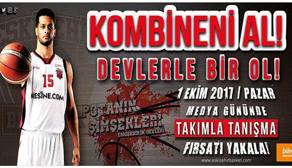 Eskişehir Basket kombine fiyatları belli oldu