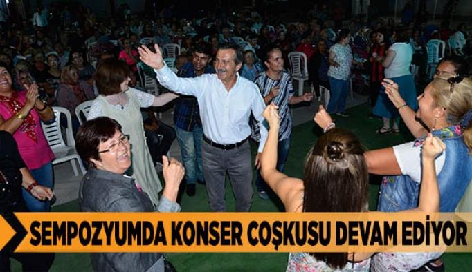 SEMPOZYUMDA KONSER COŞKUSU DEVAM EDİYOR