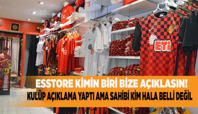 Eskişehirspor Kulübü'nden Esstore açıklaması