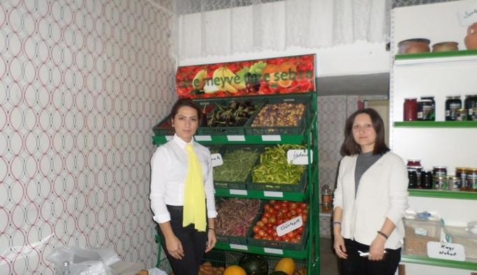 Mihalıççık'ın doğal ürünleri artık Eskişehir'de