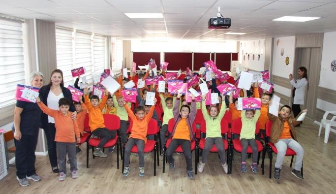Öğrencilere el yıkamanın önemi anlatıldı