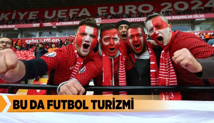 ŞEHİR DIŞINDAN 10 BİN FUTBOL SEVER GELDİ