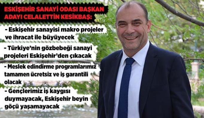 ESO sadece Eskişehir için değil, Türkiye için de projeler üretecek
