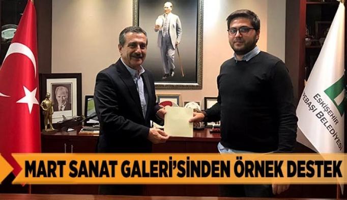 MART SANAT GALERİ'SİNDEN ÖRNEK DESTEK