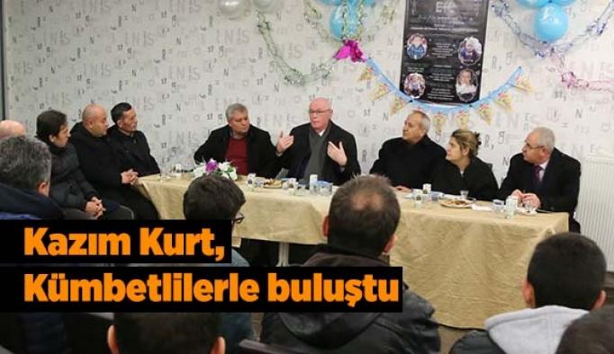 Başkan Kurt, Kümbetlilerle buluştu