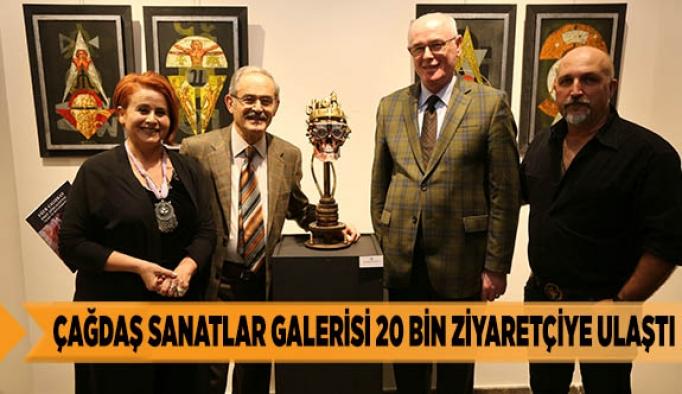 Çağdaş Sanatlar Galerisi 20 bin ziyaretçiye ulaştı