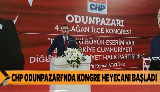 Chp Odunpazarı'nda kongre heyecanı başladı