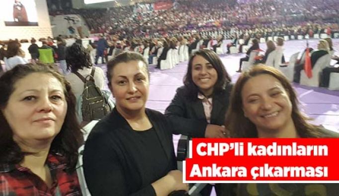 CHP'li kadınların Ankara çıkarması