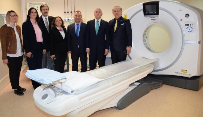 ESOGÜ Hastanesi'nin yeni tomografi cihazı hizmete girdi