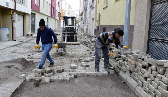 Fen işleri mahallelerde çalışmalarını sürdürüyor