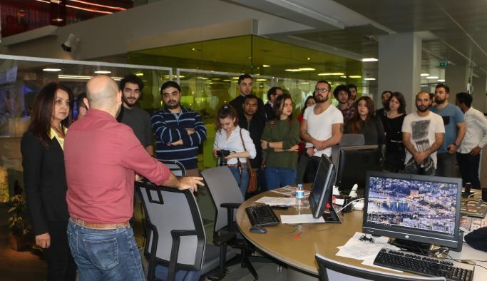 İletişim Bilimleri Fakültesi öğrencilerinden medya kuruluşlarına ziyaret