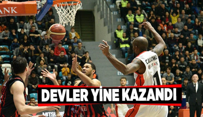Tahincioğlu Basketbol Süper Ligi: Muratbey Uşak: 68 - Eskişehir Basket: 81