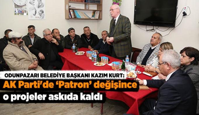 AK Parti'de patron değişince o projeler askıda kaldı