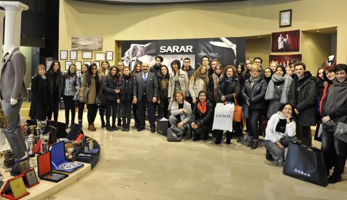Avrupalı Öğrenciler SARAR'da