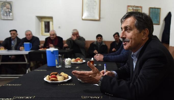 Başkan Ataç mahalle sakinleri ile bir araya geldi