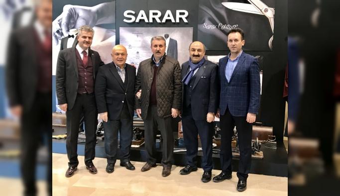 Büyük Birlik Partisi'nden Sarar'a Ziyaret