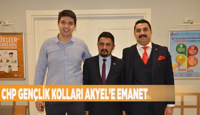 CHP GENÇLİK KOLLARI AKYEL'E EMANET
