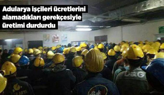 Kayyum atanan şirkette işçiler grevde