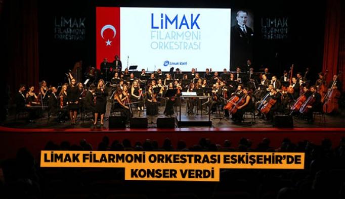 Limak Filarmoni Orkestrası Eskişehir'de Konser Verdi