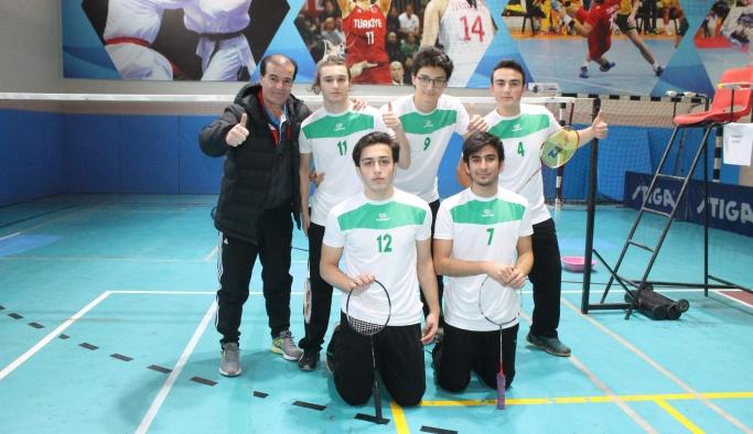 Liselerarası Badminton heyecanı başladı