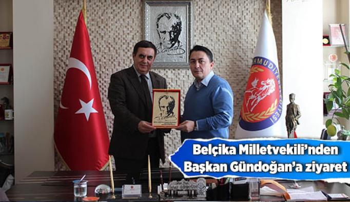 Özkara'dan Başkan Gündoğan'a ziyaret