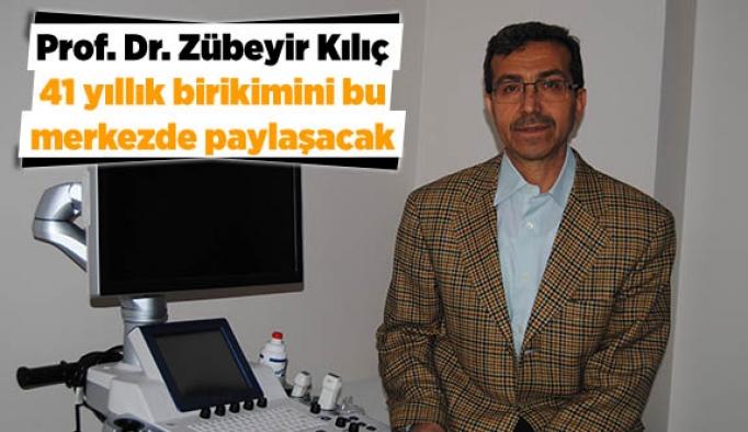 Prof. Dr. Zübeyir Kılıç,  41 yıllık birikimini  bu merkezde paylaşacak