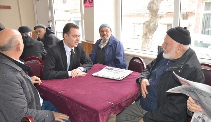 Sallarel Emek Mahallesi'ni ziyaret etti