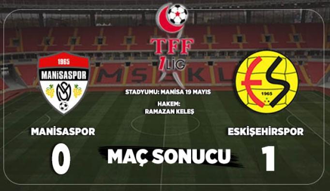 Eskişehirspor 3 puanın sahibi oldu