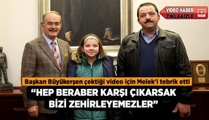 """""""HEP BERABER KARŞI ÇIKARSAK  BİZİ ZEHİRLEYEMEZLER"""""""
