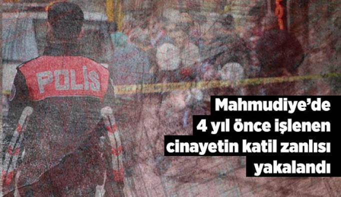 Mahmudiye ilçesinde 4 yıl önce işlenen cinayetin katil zanlısı yakalandı