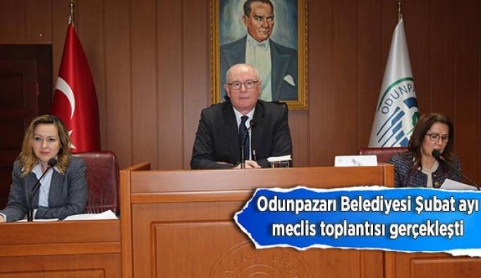 Odunpazarı Belediyesi Şubat ayı meclis toplantısı gerçekleşti