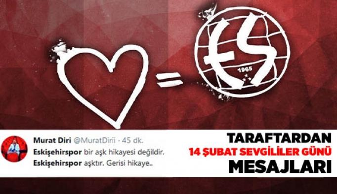Taraftar'dan 'Sevgililer Günü' mesajları