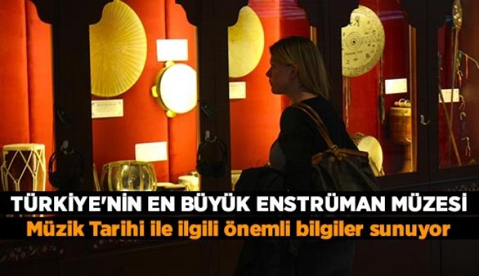 Türkiye'nin en büyük enstrüman müzesi