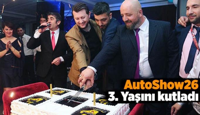 AutoShow26 3. Yaşını kutladı
