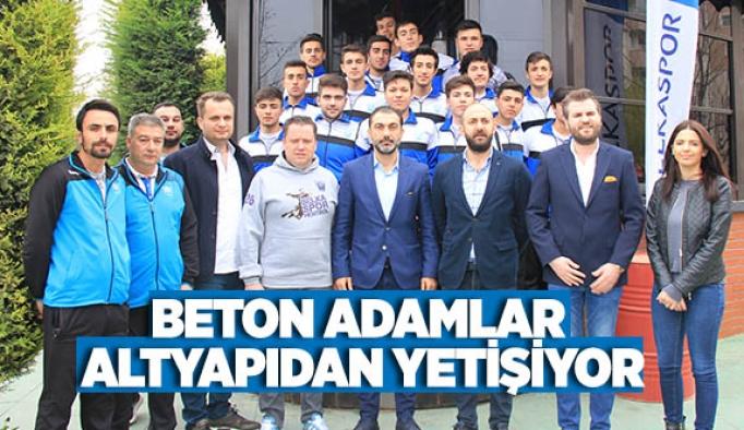 BETON ADAMLAR ALTYAPIDAN YETİŞİYOR