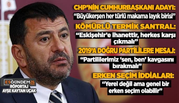 CHP'li Ağbaba: Yılmaz Büyükerşen sadece Türkiye için değil, dünya için örnek bir belediye başkanıdır