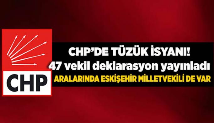 CHP'Lİ 47 VEKİLDEN ORTAK TÜZÜK AÇIKLAMASI